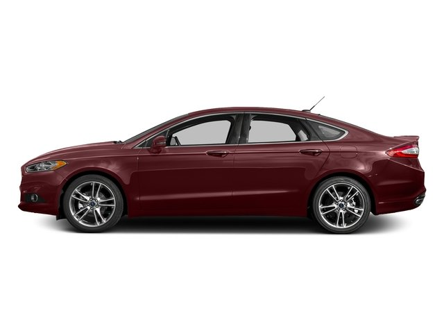 Bronze Fire Metallic Tinted Clearcoat 2016 Ford Fusion Pictures Fusion Sedan 4D Titanium AWD I4 Turbo photos side view