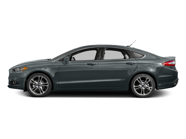 Guard 2016 Ford Fusion Pictures Fusion Sedan 4D Titanium AWD I4 Turbo photos side view