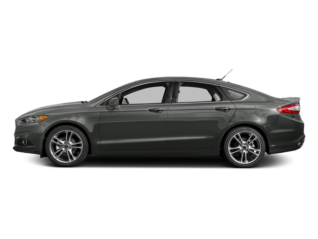 Magnetic 2016 Ford Fusion Pictures Fusion Sedan 4D Titanium AWD I4 Turbo photos side view