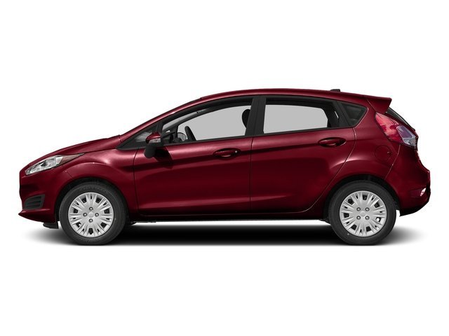 Ruby Red Metallic Tinted Clearcoat 2016 Ford Fiesta Pictures Fiesta Hatchback 5D SE EcoBoost I3 Turbo photos side view
