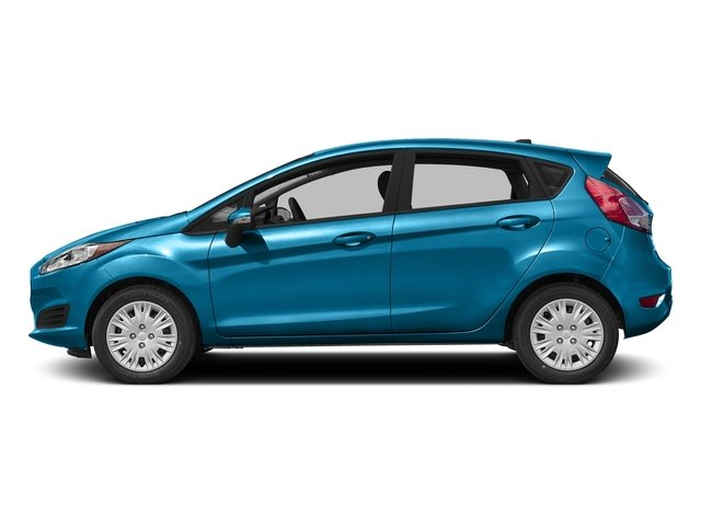 Blue Candy Metallic Tinted Clearcoat 2016 Ford Fiesta Pictures Fiesta Hatchback 5D SE EcoBoost I3 Turbo photos side view