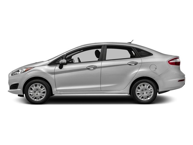 Ingot Silver Metallic 2016 Ford Fiesta Pictures Fiesta Sedan 4D SE I4 photos side view