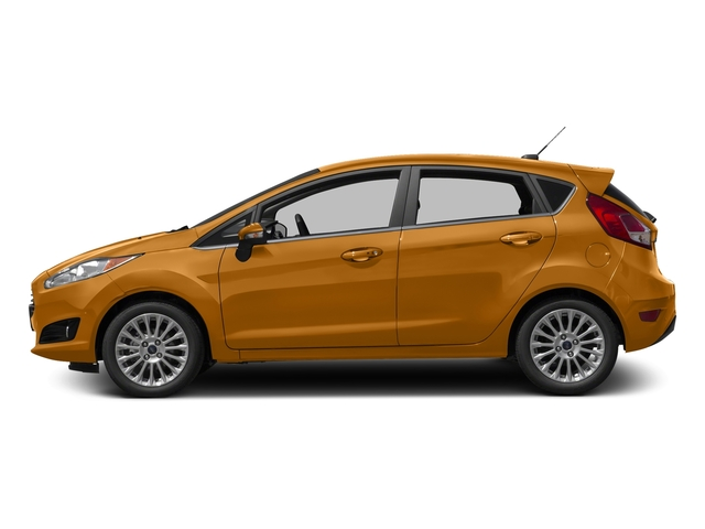 Electric Spice Metallic 2016 Ford Fiesta Pictures Fiesta Hatchback 5D Titanium I4 photos side view
