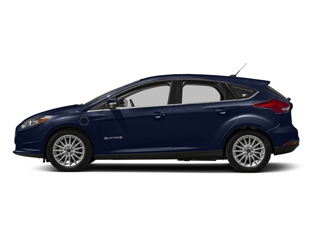 Kona Blue 2016 Ford Focus Electric Pictures Focus Electric Hatchback 5D Electric photos side view