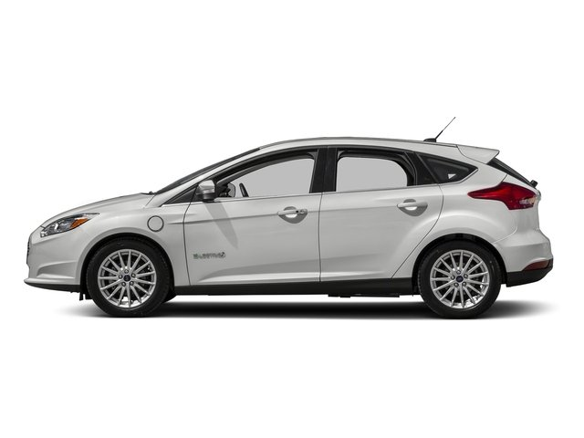 White Platinum Metallic Tri-Coat 2016 Ford Focus Electric Pictures Focus Electric Hatchback 5D Electric photos side view