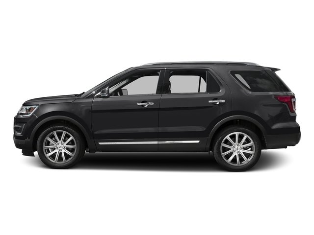 Shadow Black 2016 Ford Explorer Pictures Explorer Utility 4D Limited 2WD V6 photos side view