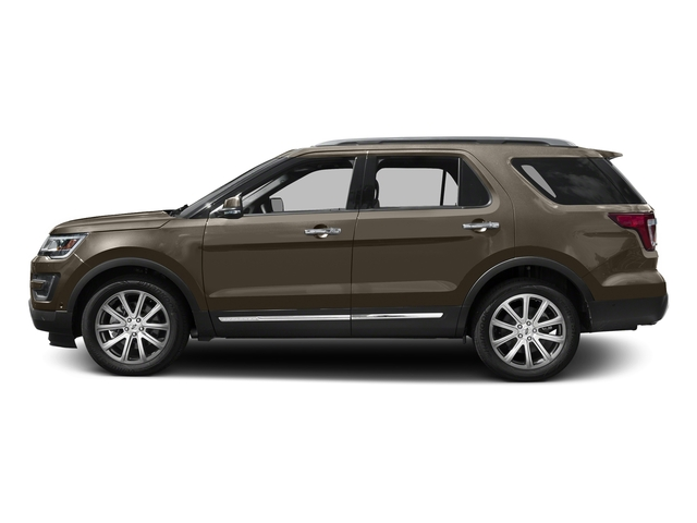 Caribou Metallic 2016 Ford Explorer Pictures Explorer Utility 4D Limited 2WD V6 photos side view