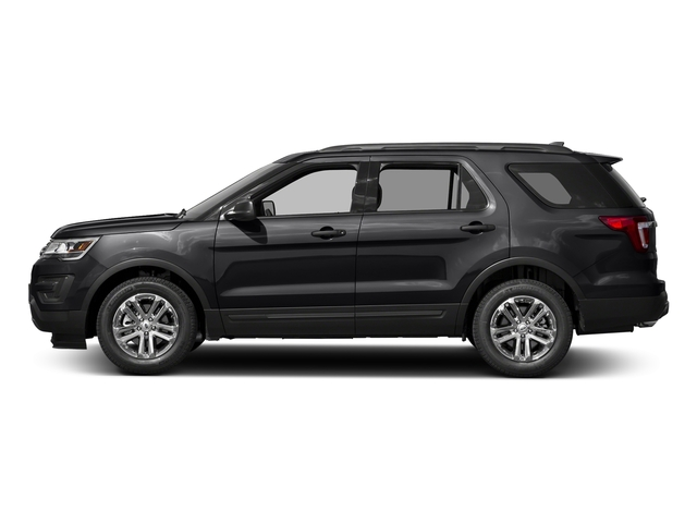 Shadow Black 2016 Ford Explorer Pictures Explorer Utility 4D EcoBoost 2WD I4 photos side view