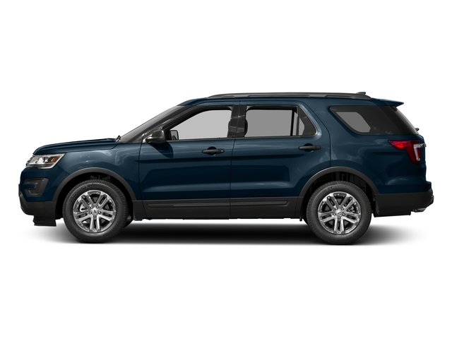 Blue Jeans Metallic 2016 Ford Explorer Pictures Explorer Utility 4D EcoBoost 2WD I4 photos side view