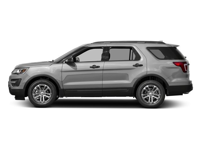 Ingot Silver Metallic 2016 Ford Explorer Pictures Explorer Utility 4D EcoBoost 2WD I4 photos side view