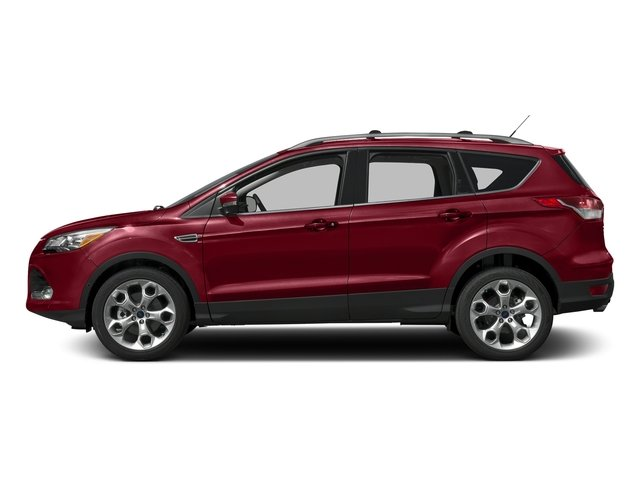 Ruby Red Metallic Tinted Clearcoat 2016 Ford Escape Pictures Escape Utility 4D Titanium 2WD I4 Turbo photos side view