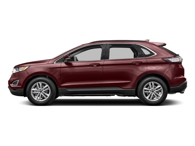 Bronze Fire Metallic Tinted Clearcoat 2016 Ford Edge Pictures Edge Utility 4D SEL 2WD V6 photos side view
