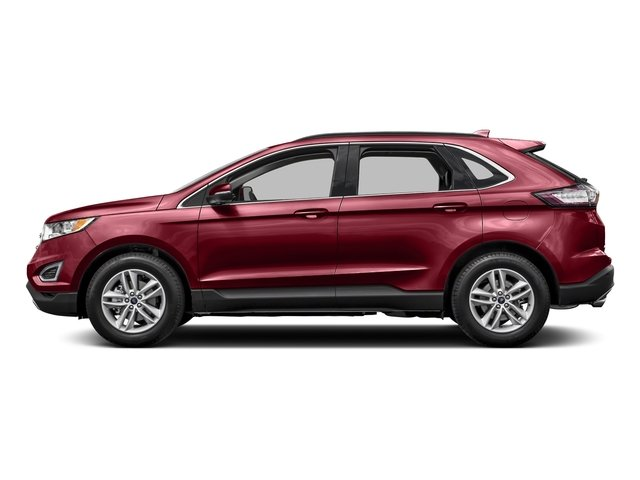 Ruby Red Metallic Tinted Clearcoat 2016 Ford Edge Pictures Edge Utility 4D SEL 2WD V6 photos side view