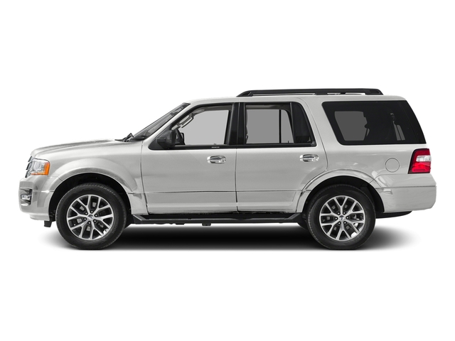 White Platinum Metallic Tri-Coat 2016 Ford Expedition Pictures Expedition Utility 4D XLT 4WD V6 Turbo photos side view