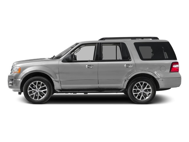 Ingot Silver Metallic 2016 Ford Expedition Pictures Expedition Utility 4D XLT 4WD V6 Turbo photos side view