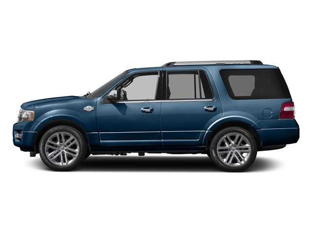 Blue Jeans Metallic 2016 Ford Expedition Pictures Expedition Utility 4D King Ranch 4WD V6 Turbo photos side view