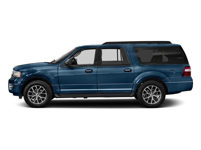 Blue Jeans Metallic 2016 Ford Expedition EL Pictures Expedition EL Utility 4D XLT 2WD V6 Turbo photos side view