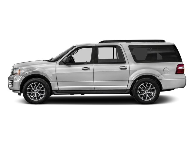 Ingot Silver Metallic 2016 Ford Expedition EL Pictures Expedition EL Utility 4D XLT 2WD V6 Turbo photos side view