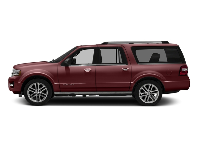 Bronze Fire Metallic 2016 Ford Expedition EL Pictures Expedition EL Utility 4D Platinum 4WD V6 Turbo photos side view