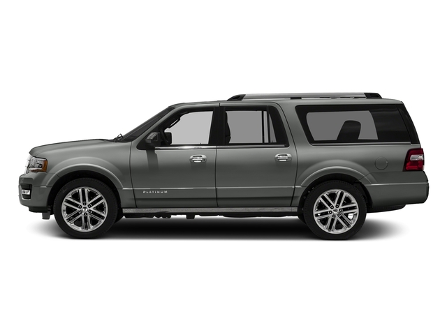Magnetic Metallic 2016 Ford Expedition EL Pictures Expedition EL Utility 4D Platinum 4WD V6 Turbo photos side view