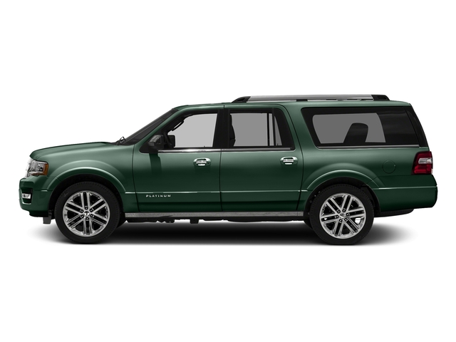 Green Gem Metallic 2016 Ford Expedition EL Pictures Expedition EL Utility 4D Platinum 4WD V6 Turbo photos side view