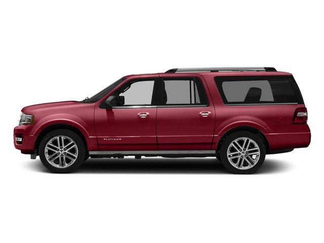 Ruby Red Metallic Tinted Clearcoat 2016 Ford Expedition EL Pictures Expedition EL Utility 4D Platinum 4WD V6 Turbo photos side view