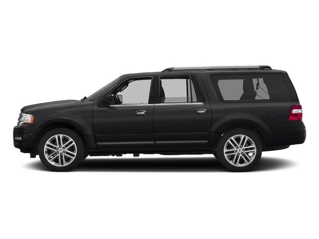 Shadow Black 2016 Ford Expedition EL Pictures Expedition EL Utility 4D Limited 4WD V6 Turbo photos side view