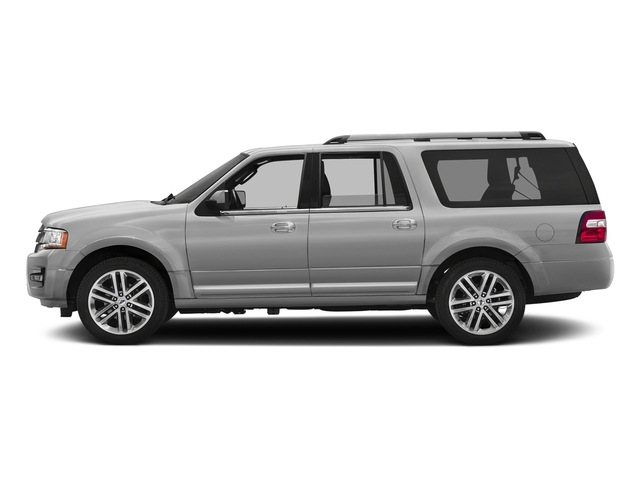 Ingot Silver Metallic 2016 Ford Expedition EL Pictures Expedition EL Utility 4D Limited 4WD V6 Turbo photos side view