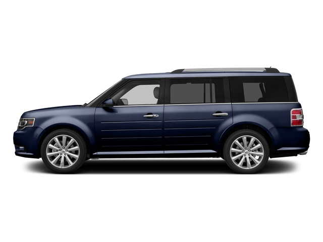 Kona Blue Metallic 2016 Ford Flex Pictures Flex Wagon 4D Limited AWD photos side view