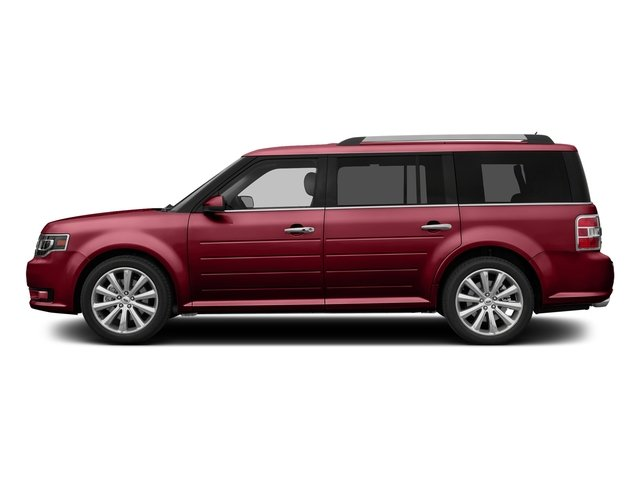 Ruby Red Metallic Tinted Clearcoat 2016 Ford Flex Pictures Flex Wagon 4D Limited AWD photos side view