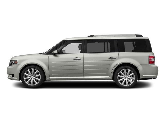 White Platinum Metallic Tri-Coat 2016 Ford Flex Pictures Flex Wagon 4D Limited AWD photos side view