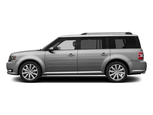 Ingot Silver Metallic 2016 Ford Flex Pictures Flex Wagon 4D Limited AWD photos side view