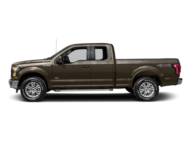 Caribou Metallic 2016 Ford F-150 Pictures F-150 Supercab Lariat 2WD photos side view