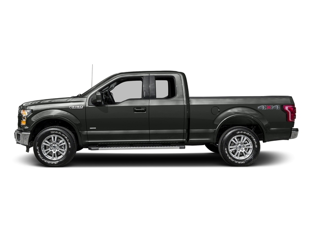 Magnetic Metallic 2016 Ford F-150 Pictures F-150 Supercab Lariat 2WD photos side view