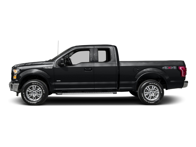 Lithium Gray 2016 Ford F-150 Pictures F-150 Supercab Lariat 2WD photos side view