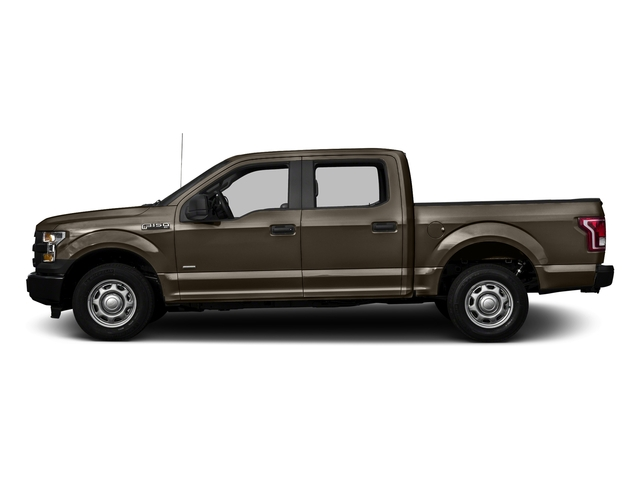 Caribou Metallic 2016 Ford F-150 Pictures F-150 Crew Cab XL 2WD photos side view