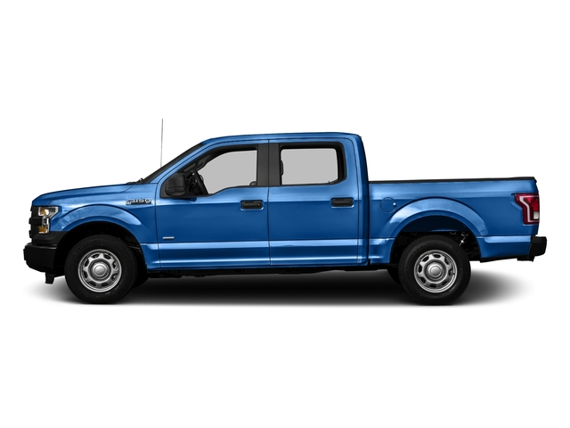 Blue Flame Metallic 2016 Ford F-150 Pictures F-150 Crew Cab XL 2WD photos side view