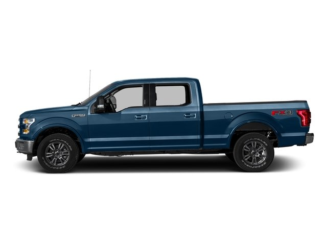 Blue Jeans Metallic 2016 Ford F-150 Pictures F-150 Crew Cab Lariat 4WD photos side view