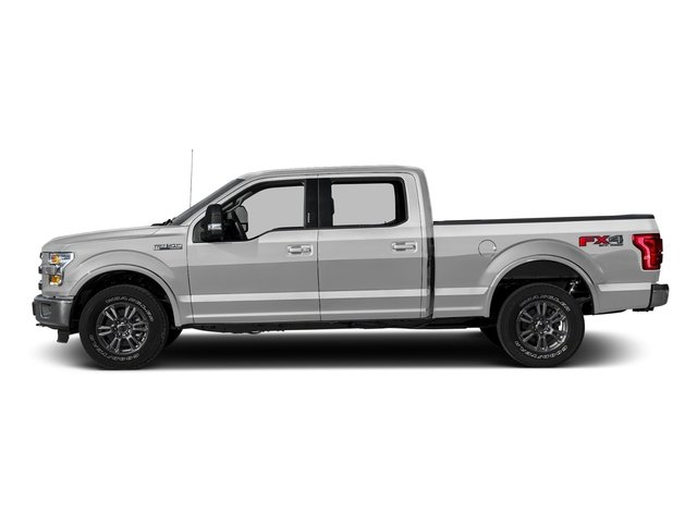 Ingot Silver Metallic 2016 Ford F-150 Pictures F-150 Crew Cab Lariat 4WD photos side view