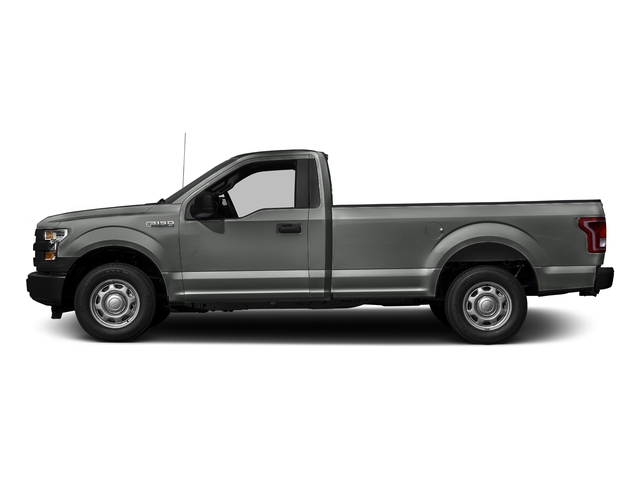 Magnetic Metallic 2016 Ford F-150 Pictures F-150 Regular Cab XL 2WD photos side view