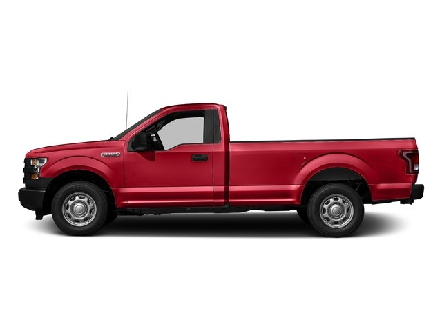Race Red 2016 Ford F-150 Pictures F-150 Regular Cab XL 4WD photos side view
