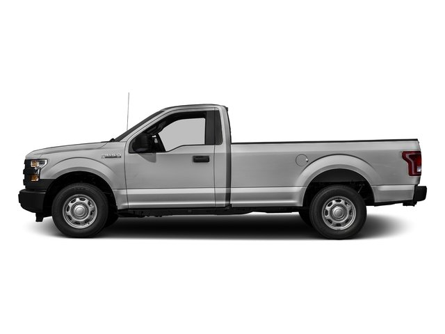 Ingot Silver Metallic 2016 Ford F-150 Pictures F-150 Regular Cab XL 4WD photos side view