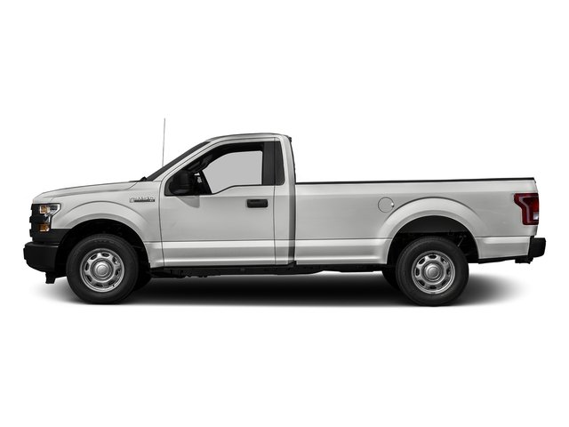 Oxford White 2016 Ford F-150 Pictures F-150 Regular Cab XL 2WD photos side view