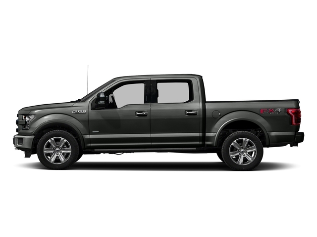 Magnetic Metallic 2016 Ford F-150 Pictures F-150 Crew Cab Platinum 2WD photos side view