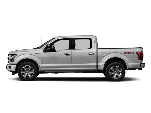Ingot Silver Metallic 2016 Ford F-150 Pictures F-150 Crew Cab Platinum 2WD photos side view