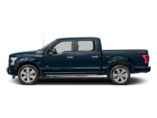 Blue Jeans Metallic 2016 Ford F-150 Pictures F-150 Crew Cab Limited EcoBoost 2WD photos side view