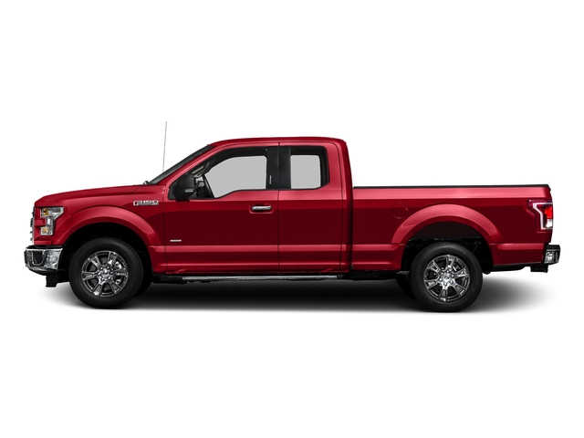 Race Red 2016 Ford F-150 Pictures F-150 Supercab XLT 2WD photos side view