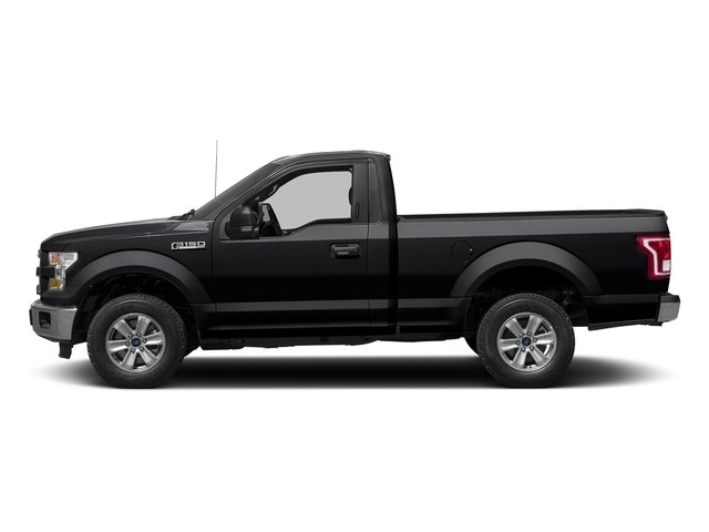 Shadow Black 2016 Ford F-150 Pictures F-150 Regular Cab XLT 2WD photos side view