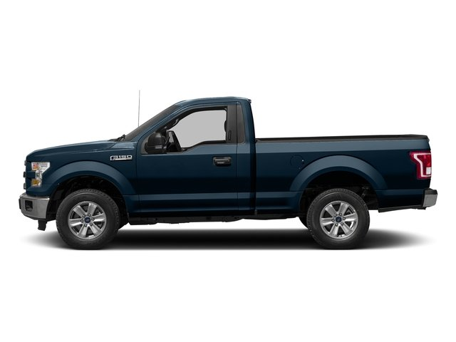 Blue Jeans Metallic 2016 Ford F-150 Pictures F-150 Regular Cab XLT 2WD photos side view