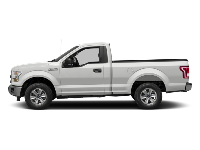 Oxford White 2016 Ford F-150 Pictures F-150 Regular Cab XLT 2WD photos side view
